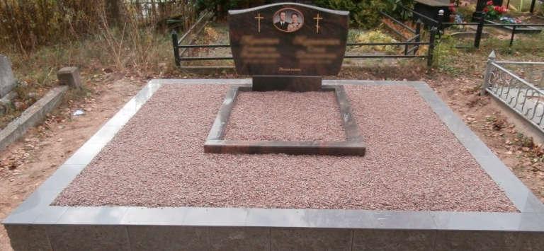 Бетонный цоколь на могилу своими руками 74