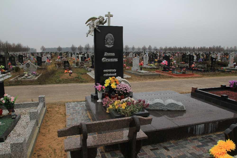 Двойной памятник в Минске - модель 3 | 667x1000