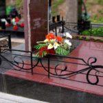 Ограда на могилу 12