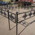 Ограда на могилу 15