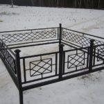 Ограда на могилу 2