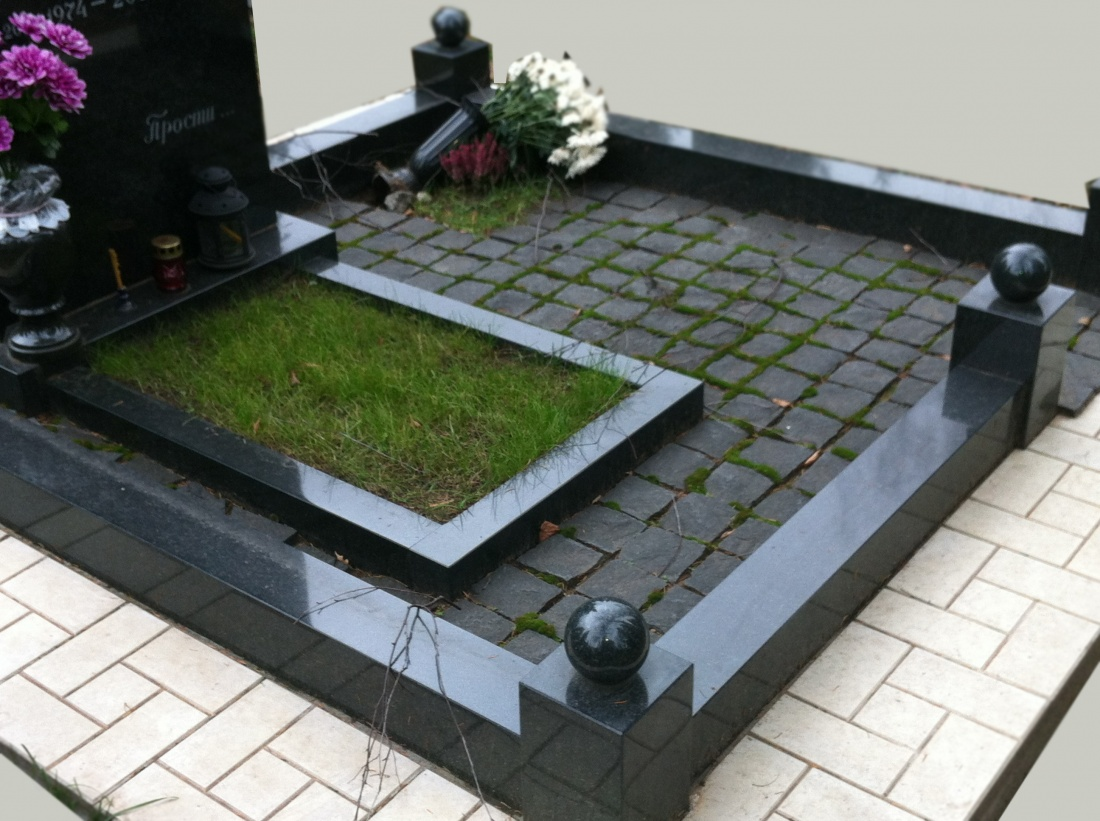 Гранитные ограды на кладбище памятники на могилу купить белгород
