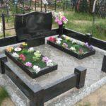 Ограда на могилу 27