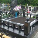 Ограда на могилу 29