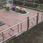 Ограда на могилу 38