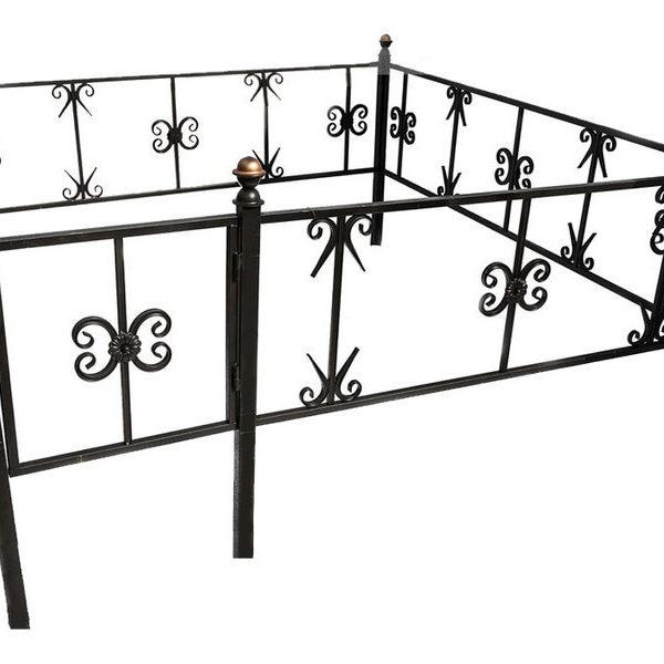Ограда металлическая Тип 10
