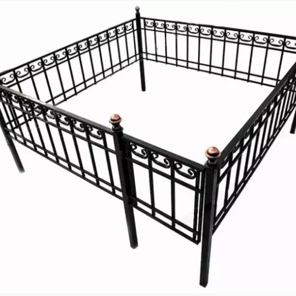 Ограда металлическая Тип 12