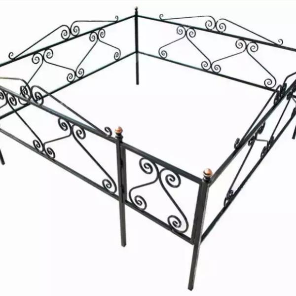 Ограда металлическая Тип 14