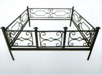 Ограда металлическая Тип 18